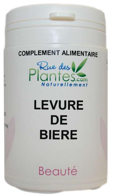 Rue Des Plantes Levure de bière 60 gélules - riche en vitamines B1, B5, B8 et B9...