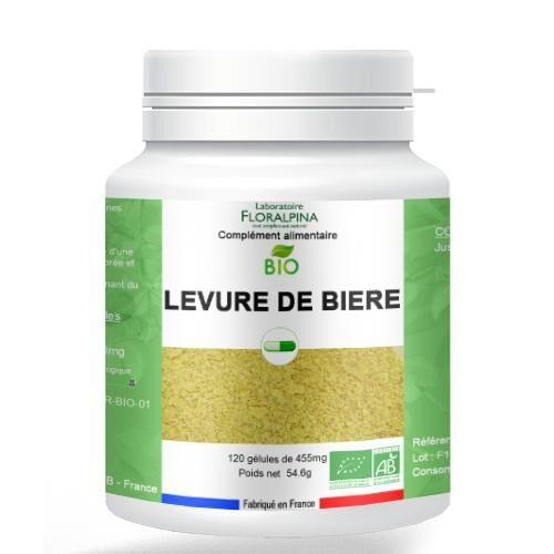 Rue Des Plantes Levure de bière BIO 120 gélules, riche en vitamines B1, B5, B8,...