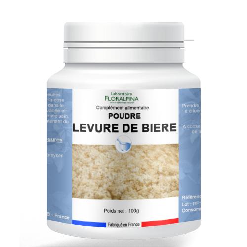 Rue Des Plantes Levure de bière poudre 100g - troubles intestinaux en renforçant...