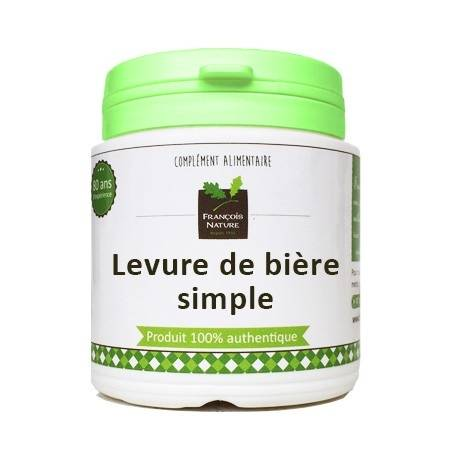 François Nature Levure de bière simple gélules ou poudre120 gélules gélatine...