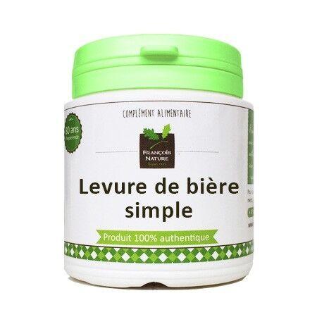François Nature Levure de bière simple gélules ou poudre240 gélules gélatine...