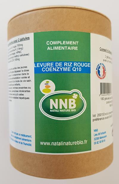Natali Nature Bio Levure De Riz Rouge + Co-Q10