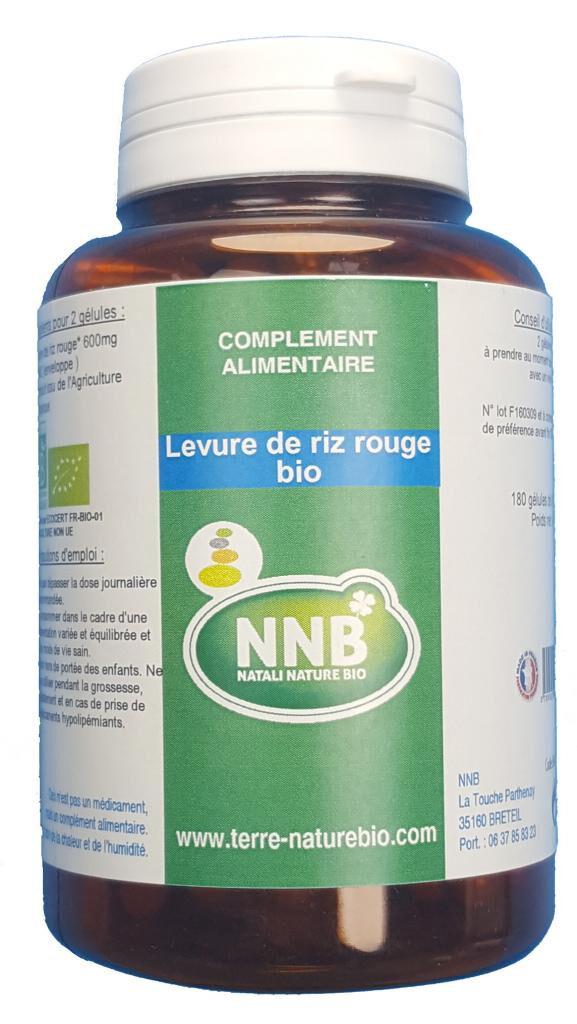 Natali Nature Bio Levure De Riz Rouge Bio