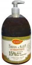 Joudy Cosmétique Naturel Et Bio Savon d'Alep liquide 15 % DE LAURIER 500ML