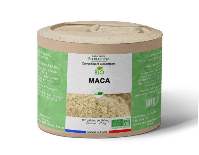 Maca bio 120 gélules, source d'énergie et qui aide au maintien...