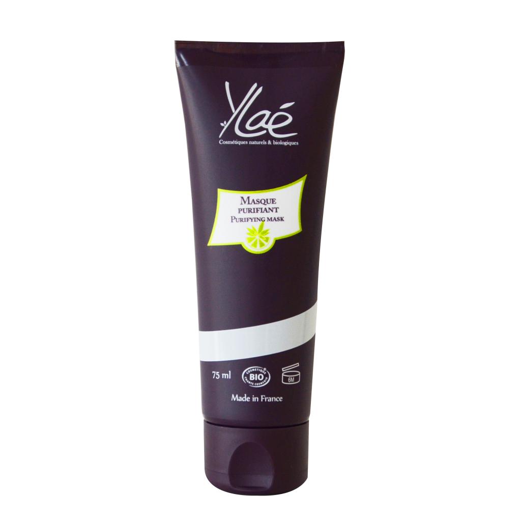 Ylaé Masque purifiant à l'argile verte 75 ml