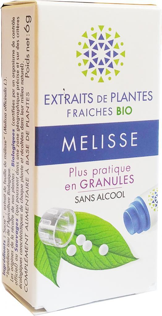 Kosmeo MELISSE Teinture Mère  d'extaits de plantes fraiches granules ...