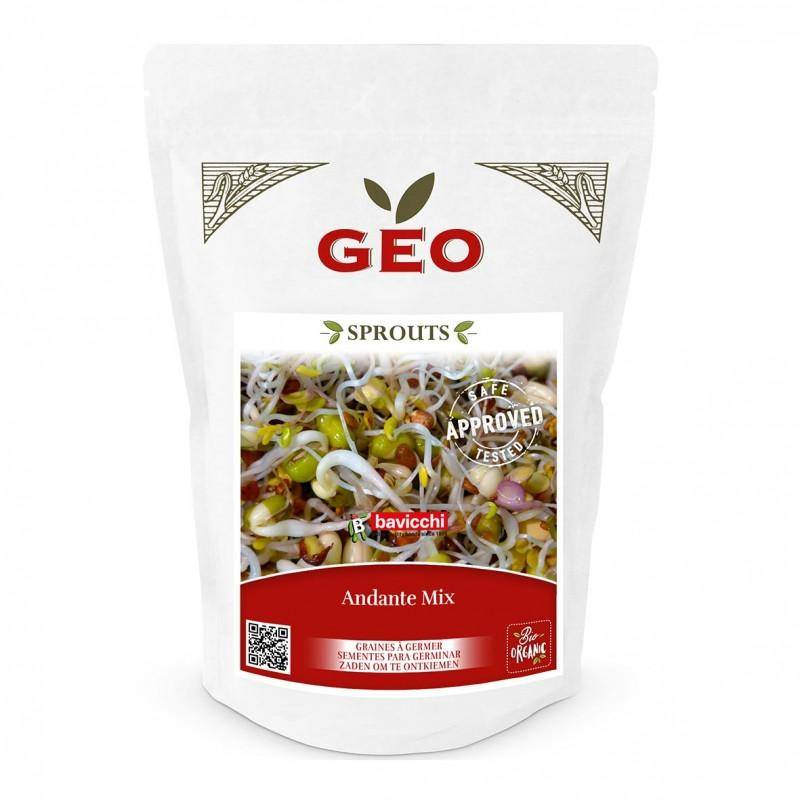 Potagium Mix Andante - Graines à germer bio - 400g - Geo