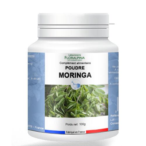 Rue Des Plantes Moringa poudre 100g - vitamines, minéraux, antioxydants