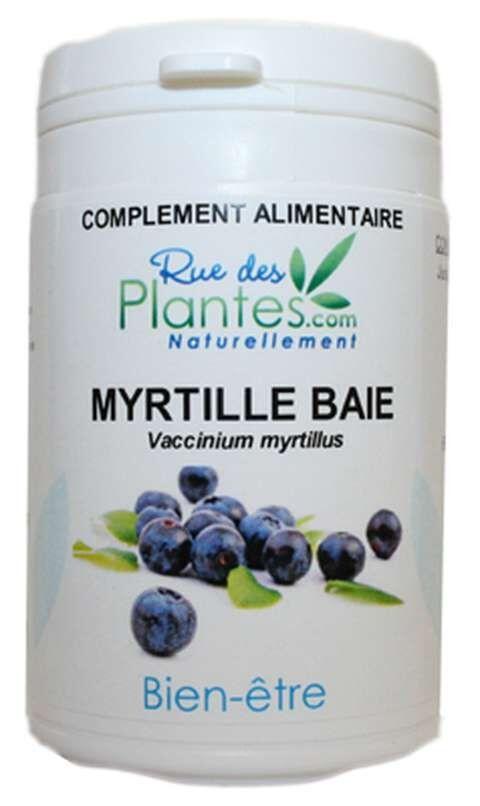Rue Des Plantes myrtille baie 120 gélules - aide à soutenir la circulation...