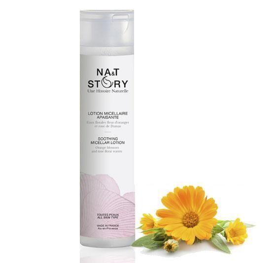Na&t Story Lotion Micellaire Apaisante aux eaux florales et à l'Aloe Vera 200ml