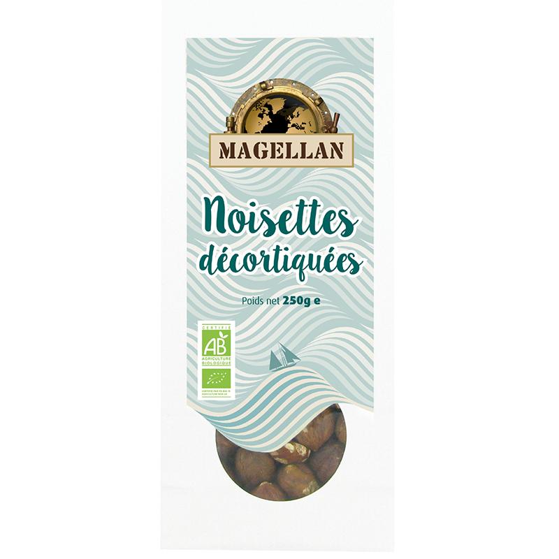 Biorgania Noisettes BIO 250g - sachet vrac Magellan