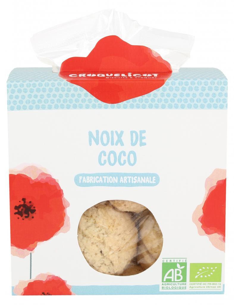 Croquelicot Biscuits Noix de coco, biologique, CROQUELICOT