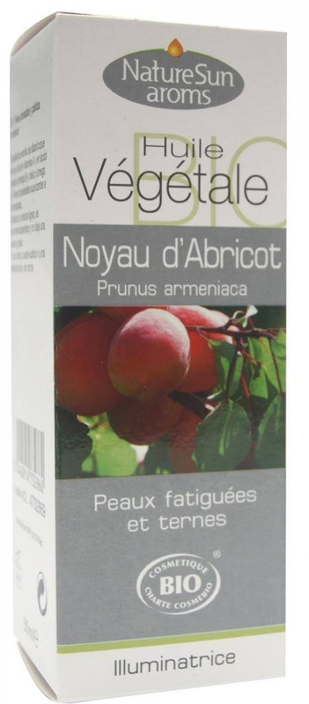 Essentielbio Noyau d'Abricot Bio -  Prunus armeniaca -50 ml - Huile végétale.