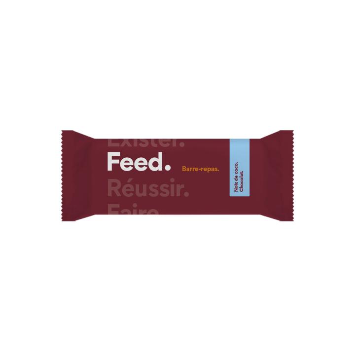 France Barre Feed. Noix de coco - Chocolat
