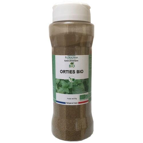 Rue Des Plantes Ortie bio salière poudre 50g - riche en fer et en vitamines A et C