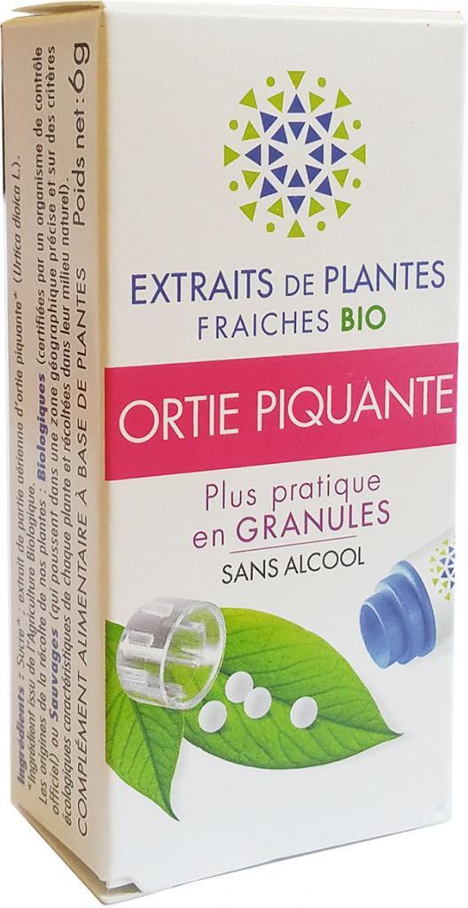 Kosmeo ORTIE PIQUANTE Teinture Mère  d'extaits de plantes fraiches...