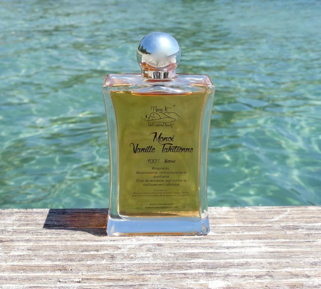 Mana Iti® Tahiti Natural Beauty MONOÏ Vanille Tahitienne 100ml