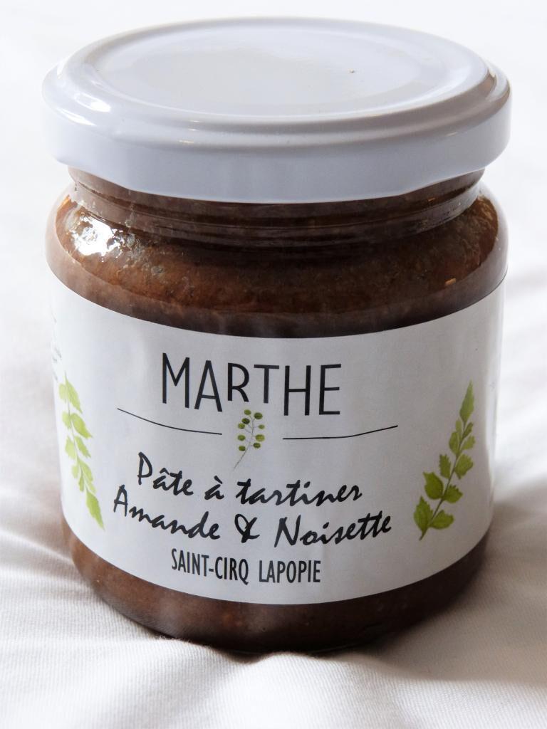 Marthebio Pâte à tartiner Bio Amandes Noisettes 225g