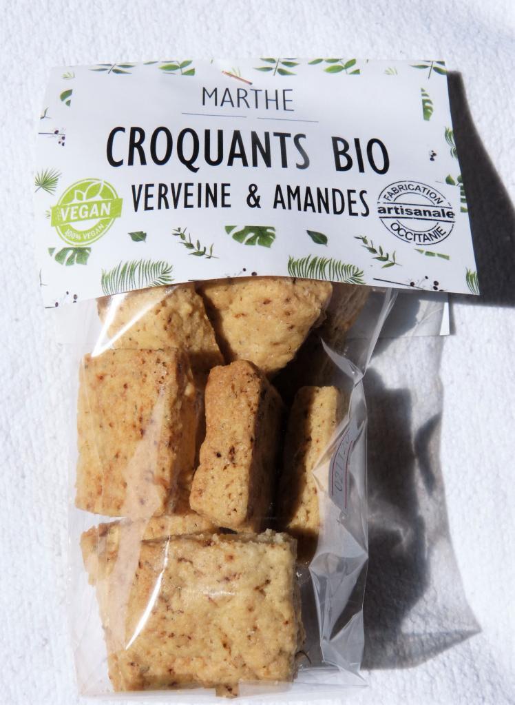 Marthebio Biscuits Bio Vegan Noisettes Cranberries 100g