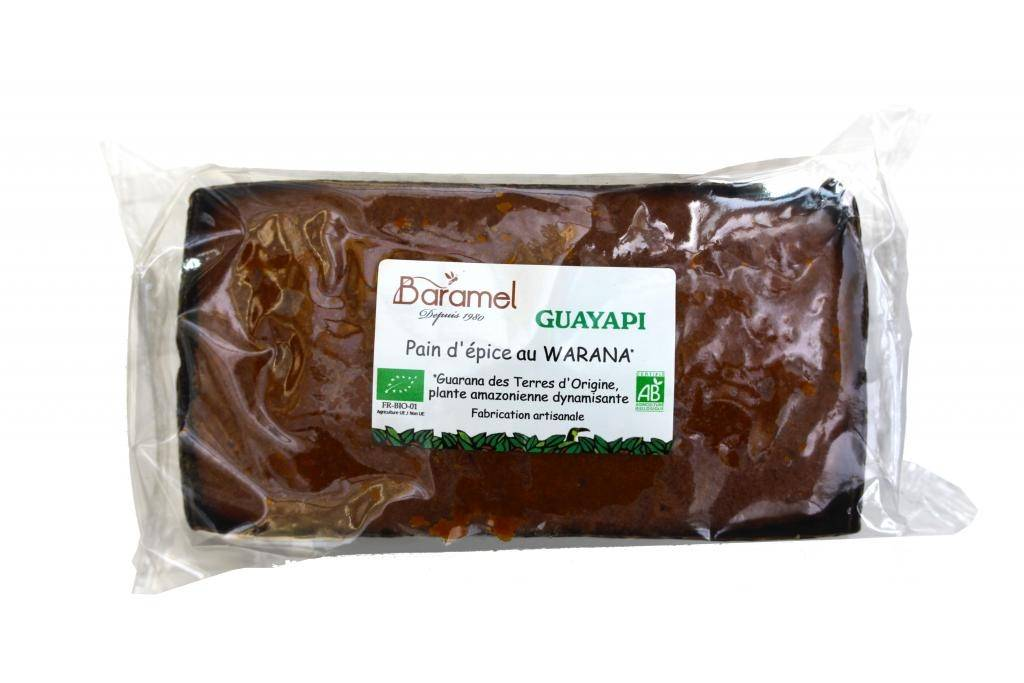 GUAYAPI Pain d'épice au warana bio