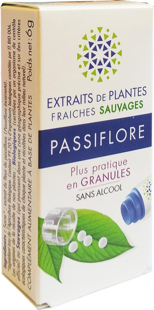 Kosmeo PASSIFLORE Teinture Mère  d'extaits de plantes fraiches granules ...
