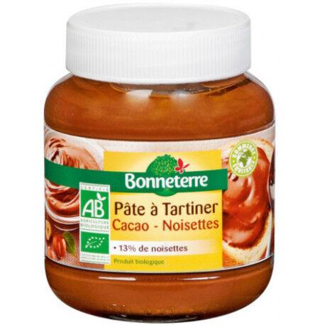 BONNETERRE PATE A TARTINER Cacao Noisettes Bio
