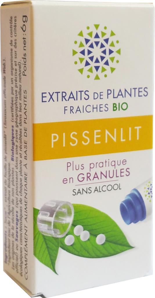 Kosmeo PISSENLIT Teinture Mère  d'extaits de plantes fraiches granules ...