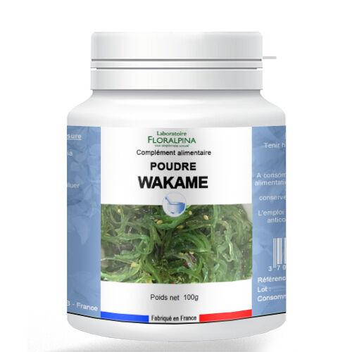 Rue Des Plantes Poudre de wakamé 100g - un véritable coupe-faim naturel et efficace.