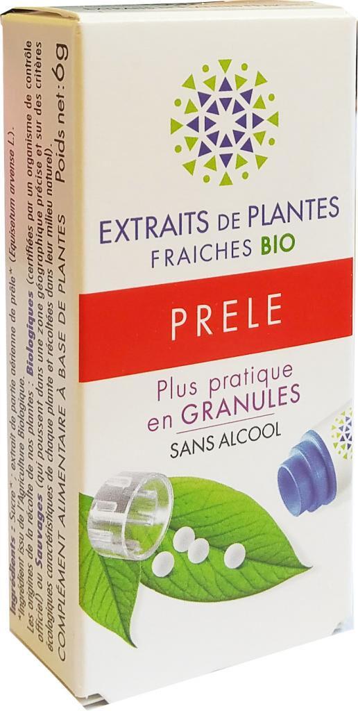 Kosmeo PRELE Teinture Mère  d'extaits de plantes fraiches granules  Sans...