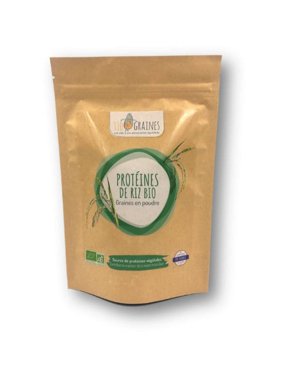 110 Graines Protéines de riz BIO - 400g - 110 Graines