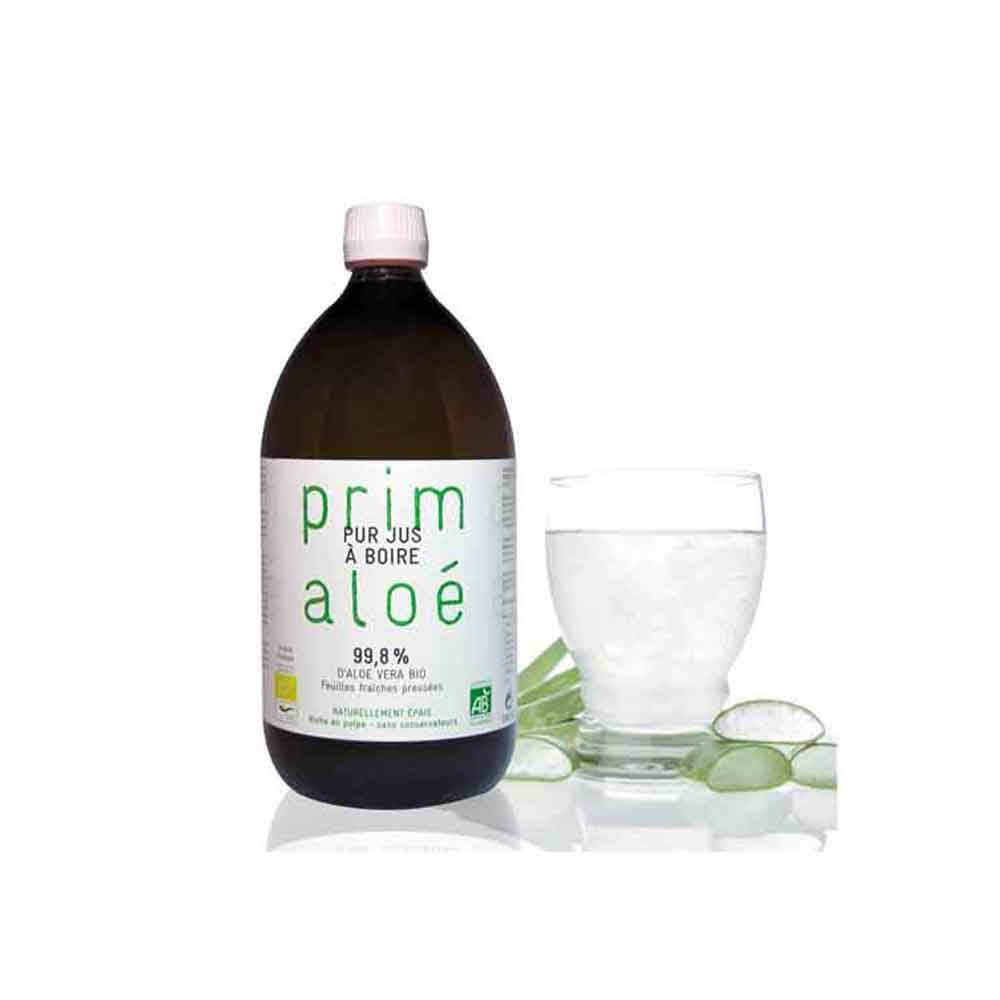 Le Germe De Vie Pur Jus à boire Aloé Vera Bio 1L Prim Aloe
