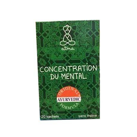 Relais Bio Infusion Concentration du Mental Bio - 20 Sachets - Atma
