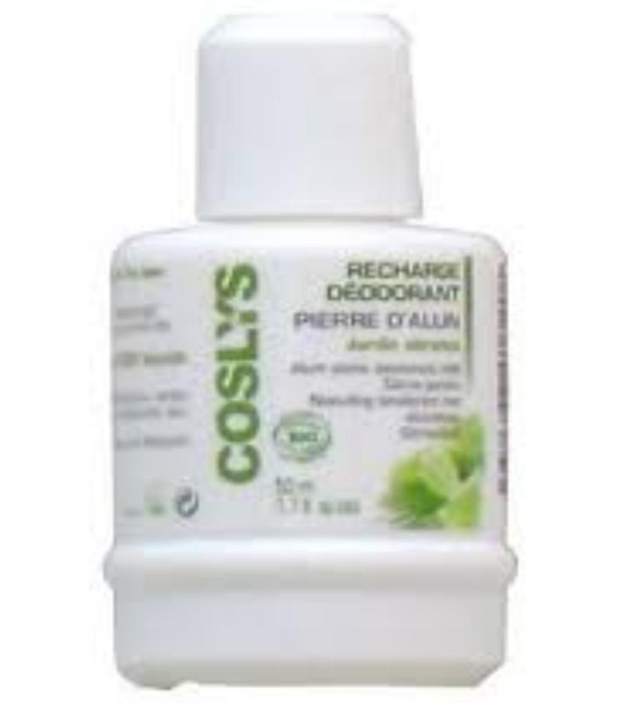Essentielbio DEODORANT PIERRE D ALUN  - 50 ml - Rechargeable