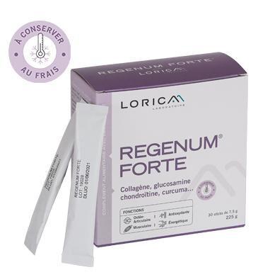 Laboratoire Lorica Regenum Forte® - collagène, glucosamine, chondroitine, curcuma...