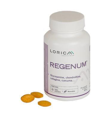 Laboratoire Lorica Regenum® - Glucosamine, Chondroitine, Curcuma, Harpagophytum