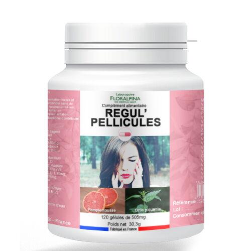 Rue Des Plantes Régul'pellicule 120 gélules - La vitamine A, la Riboflavine et...