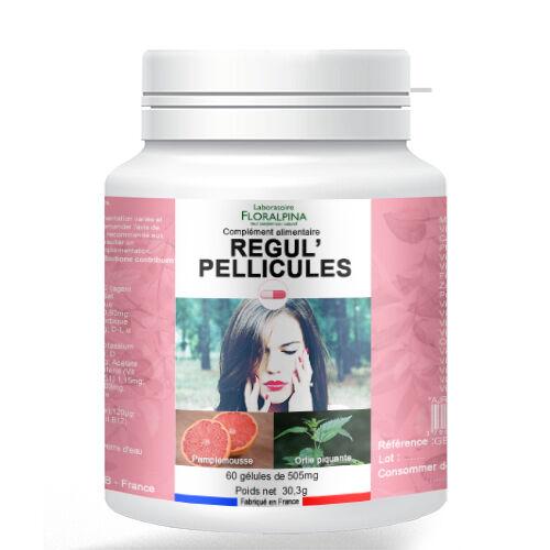 Rue Des Plantes Régul'pellicule 60 gélules - La vitamine A, la Riboflavine et la...