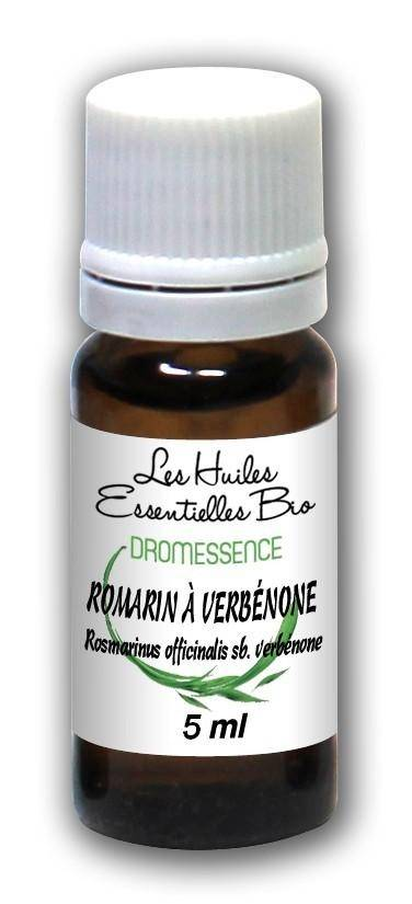 Dromessence Huile essentielle Romarin à verbénone BIO 5 ml DROMESSENCE