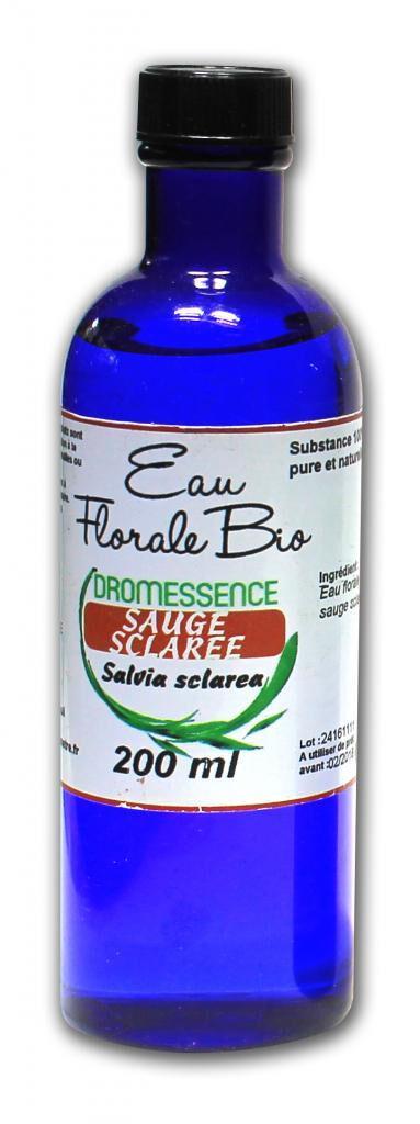 SALVIA Hydrolat (ou eau florale ) Sauge sclarée BIO 500 ml DROMESSENCE