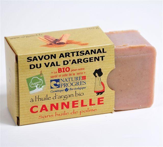 Savonnerie Argasol Savon Cannelle 140G