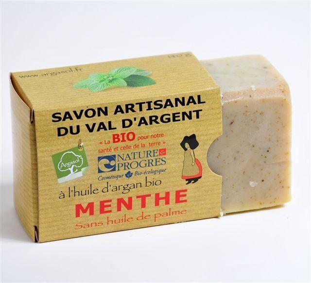 Savonnerie Argasol Savon Menthe 140G