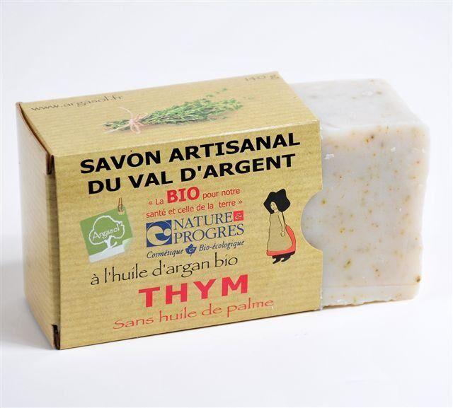 Savonnerie Argasol Savon Thym 140G