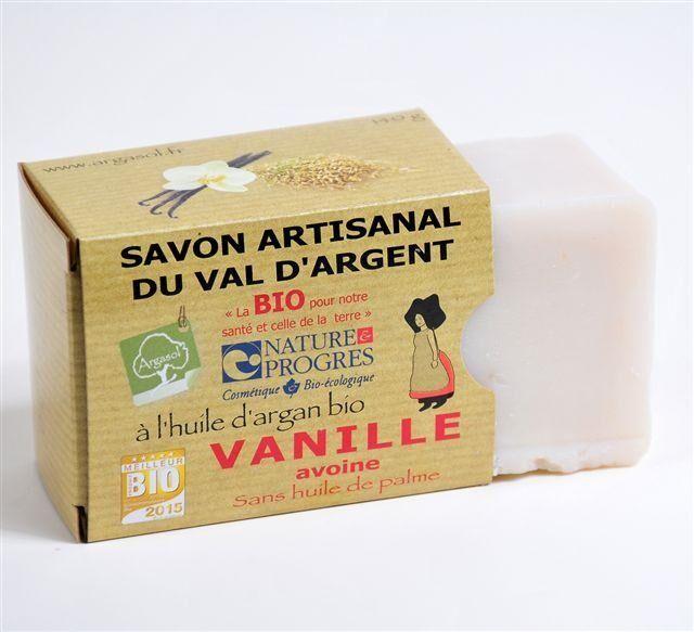 Savonnerie Argasol Savon Vanille Avoine 140G