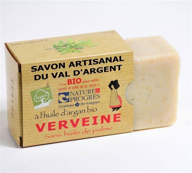 Savonnerie Argasol Savon A La Verveine 140G