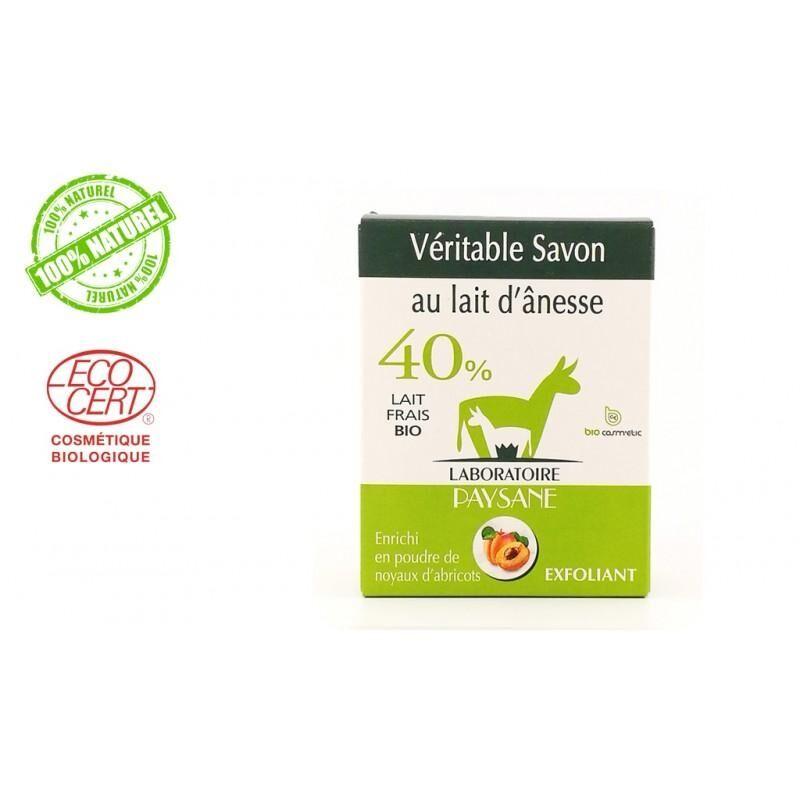 Les Essentiels D'isabelle Savon au lait d'ânesse 40 % exfoliant 100G