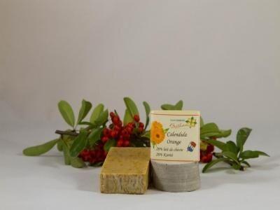 Les Essentiels D'isabelle Savon calendula-orange environ 110g