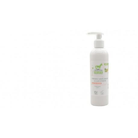 Les Essentiels D'isabelle Savon liquide Citron Citron vert 40% lait d'ânesse  250ml