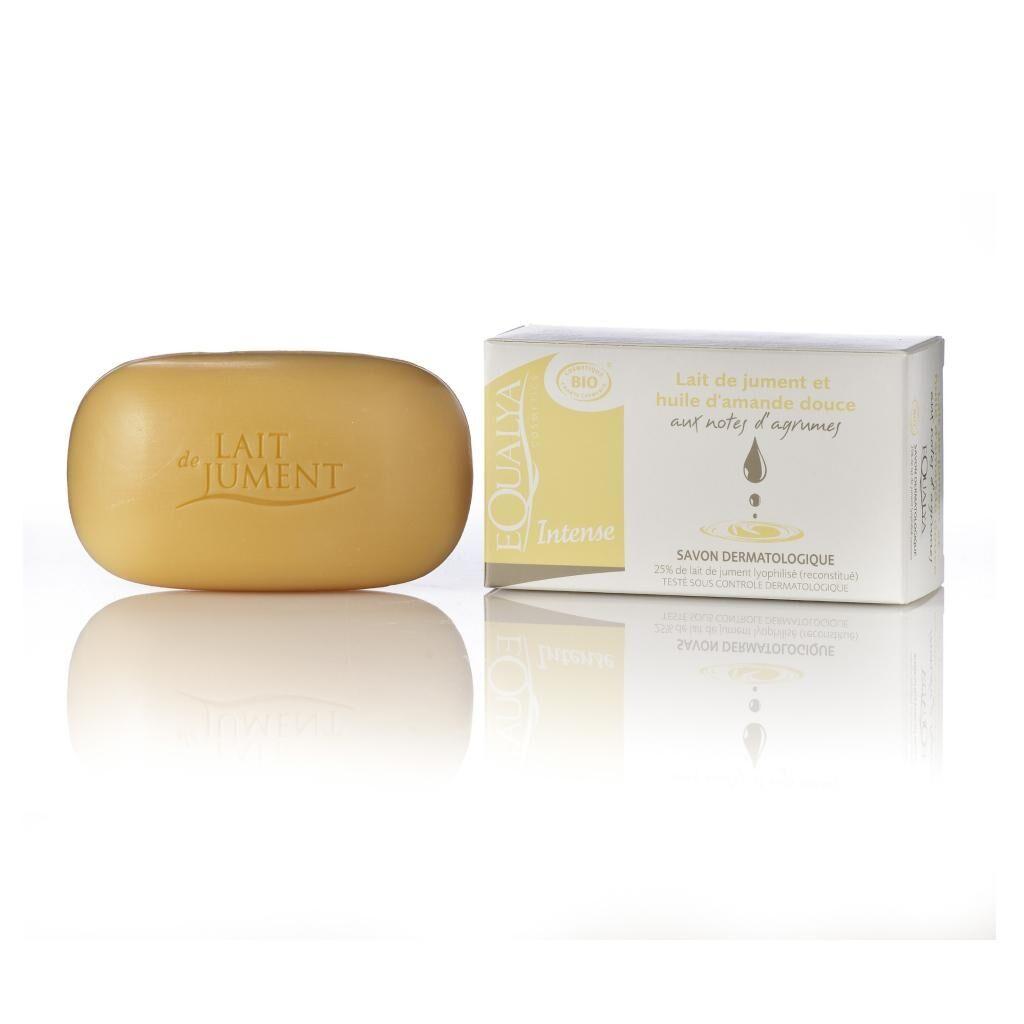 Equalya Cosmetics Lait De Jument Bio Savon lait de jument et huile d'amande douce 100g