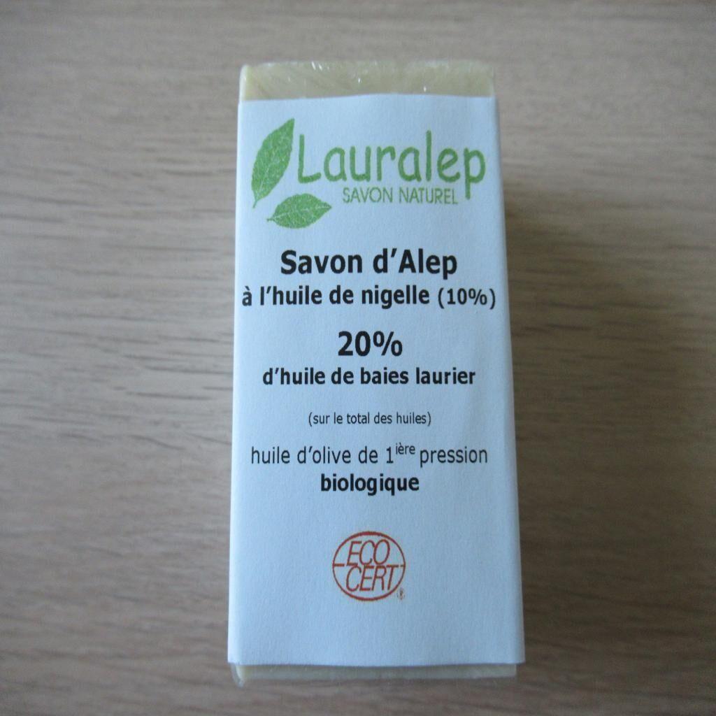 Arom'nature Conseil Savon d'Alep à l'huile de laurier et Nigelle